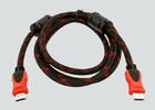 HDMI v1.4 кабель в оплётке 3м