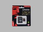 Карта памяти Kingston microSDXC 128GB