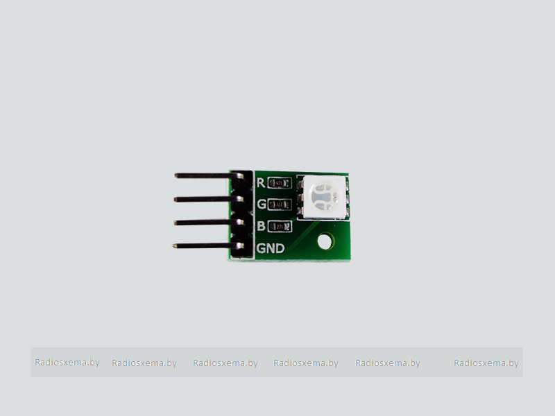 Светодиодный модуль rgb 12mm