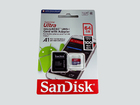 Карта памяти microSDXC SanDisk Ultra 64Gb