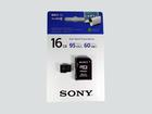 Карта памяти Sony microSDHC 16Gb