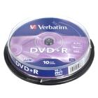 VERBATIM DVD+R 4,7GB 16x CB-10